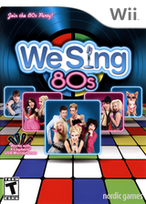 We Sing 80s Wii cover (SW8ENG)