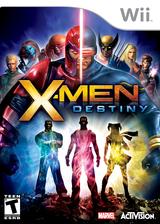 X-Men Destiny Wii cover (SX8E52)
