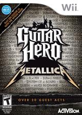 Guitar Hero: Metallica Wii cover (SXBE52)
