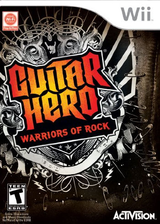 Guitar Hero: Warriors of Rock Wii cover (SXIE52)