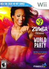 Zumba Fitness World Party Wii cover (SZ3E5G)