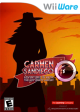 Carmen Sandiego Adventures in Math: The Lady Liberty Larceny WiiWare cover (W3LE)