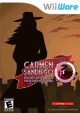 Carmen Sandiego Adventures in Math: The Island of Diamonds WiiWare cover (WA5E)