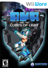 Aya and the Cubes of Light WiiWare cover (WAAE)