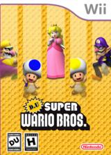 DU Super Wario Bros. CUSTOM cover (WARE01)