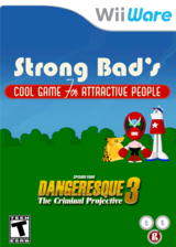 Strong Bad Episode 4: Dangeresque 3 WiiWare cover (WB2E)