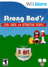 Strong Bad Episode 5: 8-bit is Enough WiiWare cover (WB3E)