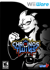 Chronos Twins DX WiiWare cover (WC6E)
