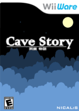 Cave Story WiiWare cover (WCVE)