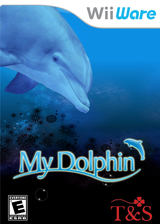 My Dolphin WiiWare cover (WE6E)