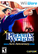 Phoenix Wright: Ace Attorney WiiWare cover (WGSE)