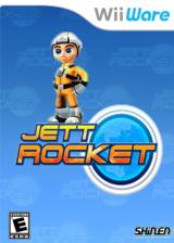 Jett Rocket WiiWare cover (WJEE)