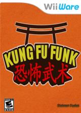 Kung Fu Funk: Everybody is Kung Fu Fighting! WiiWare cover (WKFE)
