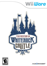 The Mystery of Whiterock Castle WiiWare cover (WKIE)