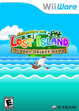 Adventure on Lost Island: Hidden Object Game WiiWare cover (WKWE)