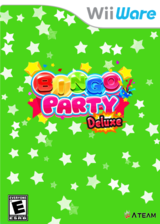 Bingo Party Deluxe WiiWare cover (WLCE)