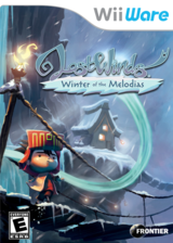 LostWinds: Winter of the Melodias WiiWare cover (WLOE)