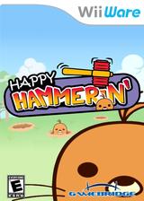 Happy Hammerin WiiWare cover (WM9E)