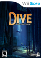 Dive: The Medes Islands Secret WiiWare cover (WMJE)