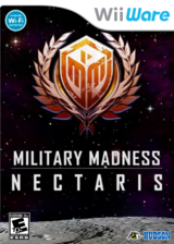Military Madness: Nectaris WiiWare cover (WN9E)