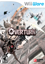 Overturn WiiWare cover (WOTE)