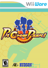 Pit Crew Panic! WiiWare cover (WPIE)