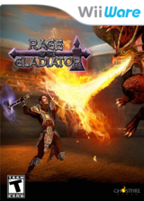 Rage of the Gladiator WiiWare cover (WRGE)