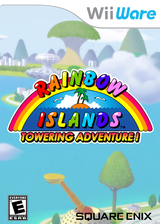 Rainbow Islands: Towering Adventure! WiiWare cover (WRIE)