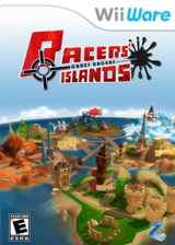 Racers' Islands - Crazy Racers WiiWare cover (WRJE)
