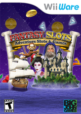 Fantasy Slots: Adventure Slots and Games WiiWare cover (WS7E)