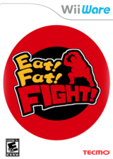 Eat! Fat! FIGHT! WiiWare cover (WSME)