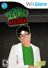 Zombii Attack WiiWare cover (WZAE)