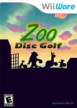 Zoo Disc Golf WiiWare cover (WZGE)