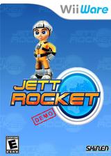 Jett Rocket (Demo) WiiWare cover (XHLE)