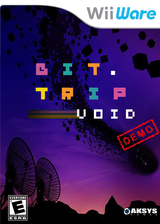 BIT.TRIP VOID (Demo) WiiWare cover (XHWE)