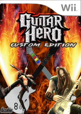 Guitar Hero III Custom : Edition Custom CUSTOM cover (CGHCE1)