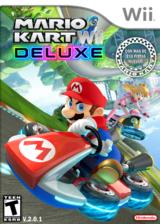 Mario Kart Wii Deluxe CUSTOM cover (RMCEB4)