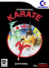 International Karate VC-C64 cover (C9YP)