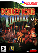 Donkey Kong Country VC-SNES cover (JAEP)