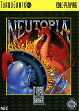 Neutopia VC-PCE cover (PAMP)