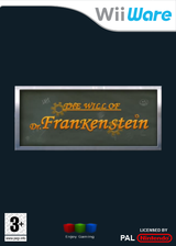 The Will of Dr. Frankenstein WiiWare cover (WWLP)