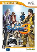 戦国BASARA3 Wii cover (SB3J08)