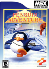 Penguin Adventure: Yume Tairiku Adventure VC-MSX cover (XAHJ)