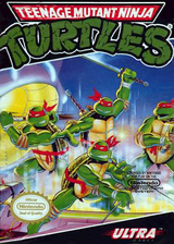 Teenage Mutant Ninja Turtles VC-NES cover (FBKE)