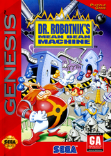 Dr. Robotnik's Mean Bean Machine VC-MD cover (MACE)