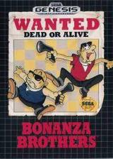 Bonanza Bros. VC-MD cover (MALE)