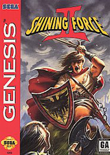 Shining Force II VC-MD cover (MB6E)