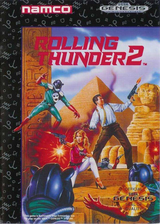 Rolling Thunder 2 VC-MD cover (MBRE)