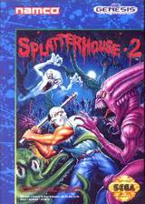 Splatterhouse 2 VC-MD cover (MCJE)