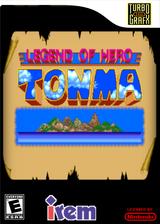 Legend of Hero Tonma VC-PCE cover (PBME)